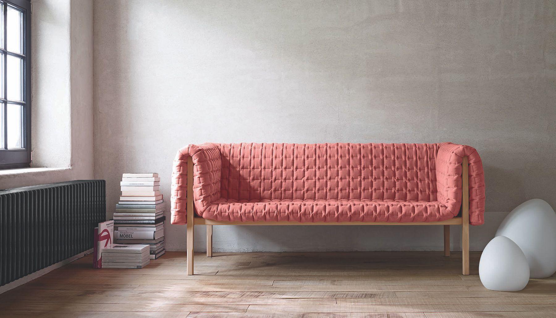 divã rosa quartzo