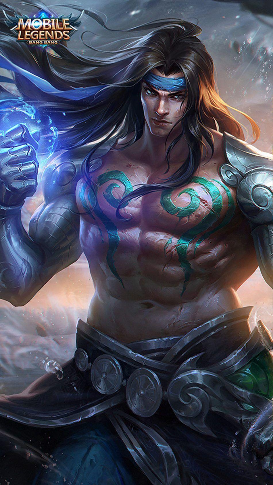 Badang Mobile Legends 4k Ultra Hd Mobile Wallpaper Mobile Legend Wallpaper Hero Fighter Tribal Warrior
