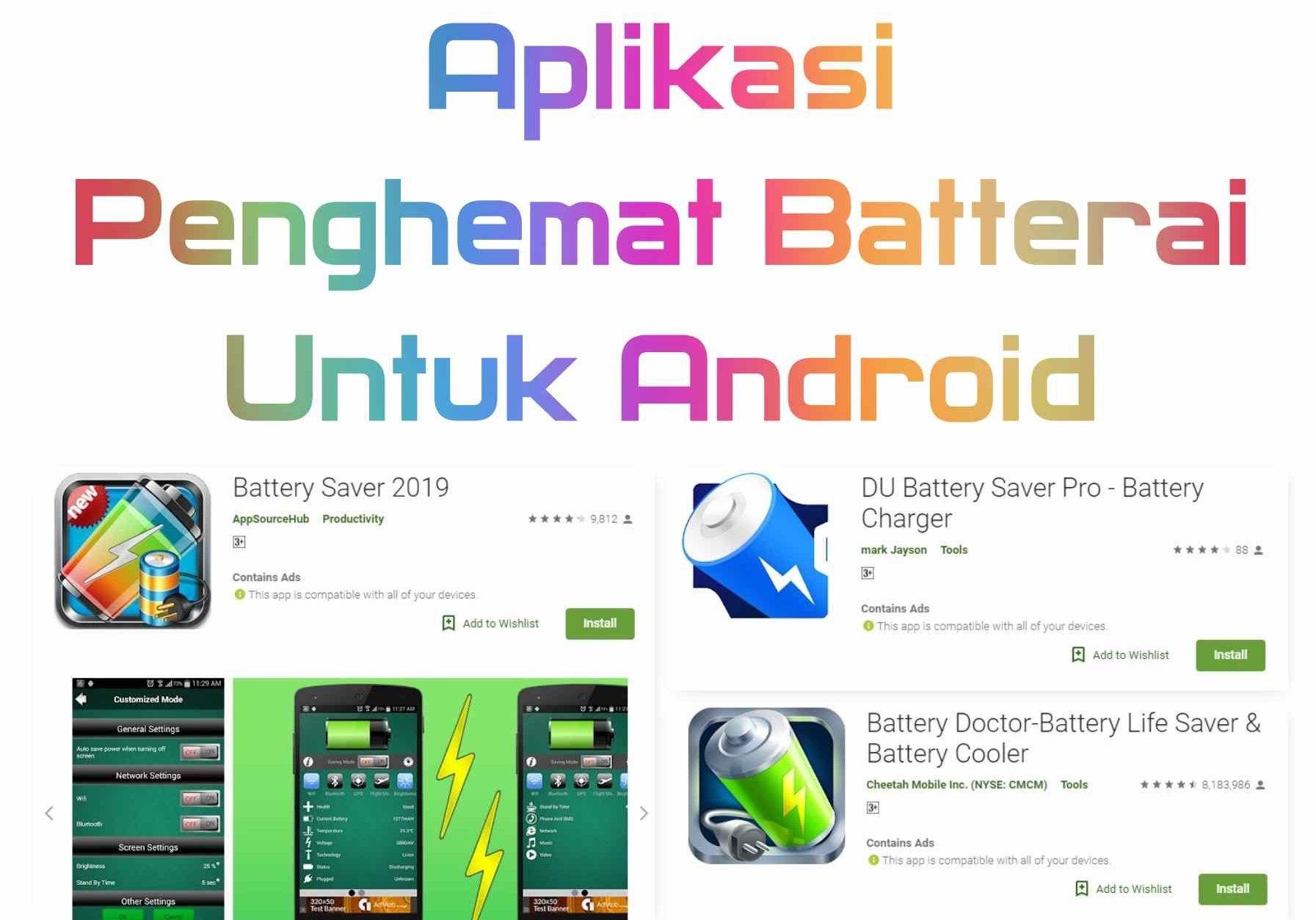 Bingung Karena Sering Mengecas Smartphone Akibat Baterai Cepat Habis Berikut Ini Rekomendasi Aplikasi Penghemat Baterai Dengan Rating T Aplikasi Baterai Hemat