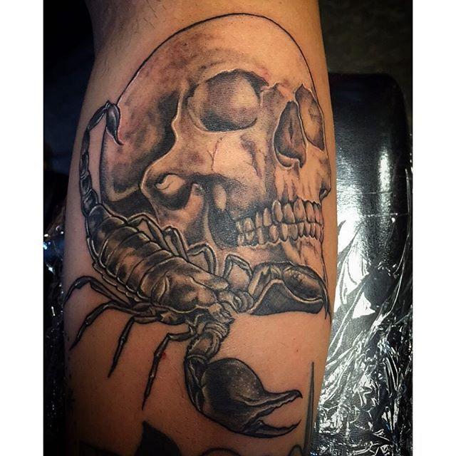 Skull Tattoo Scorpio Tattoo Pinterest Tattoos Skull Hand
