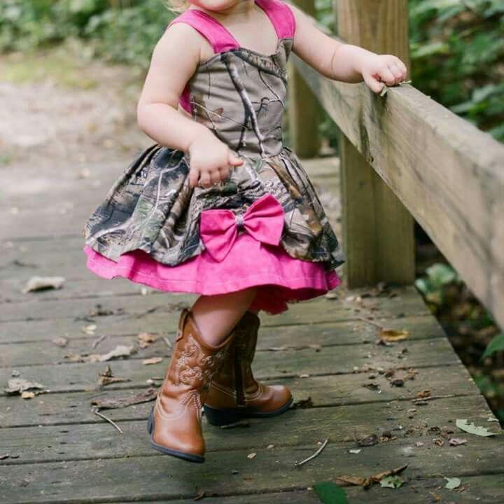 Buck Wear Realtree Tu Tu Cute Camo Pink Skirt Girls Deer Toddler Dress