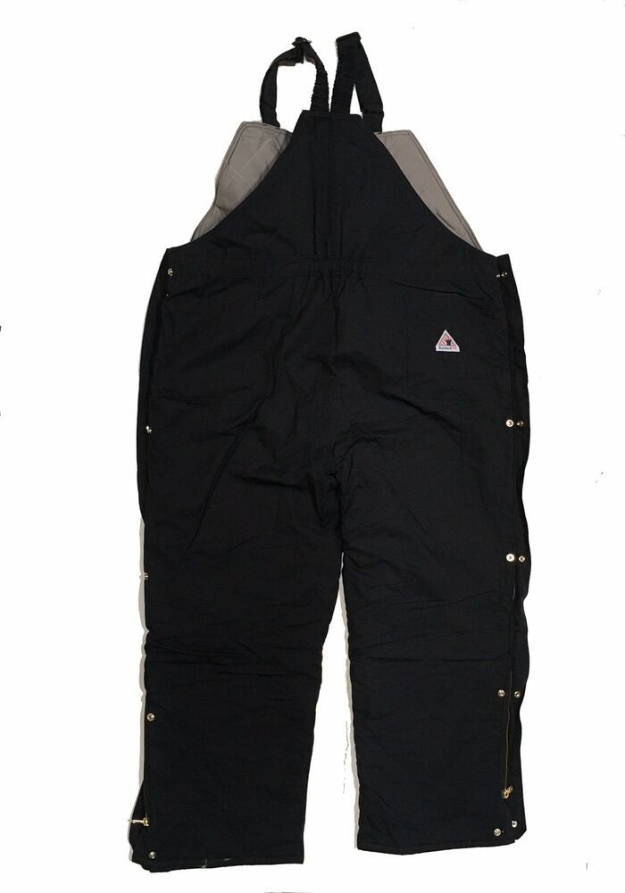 details about bulwark fr overalls 3x deluxe insulated bib on insulated work overalls id=67732