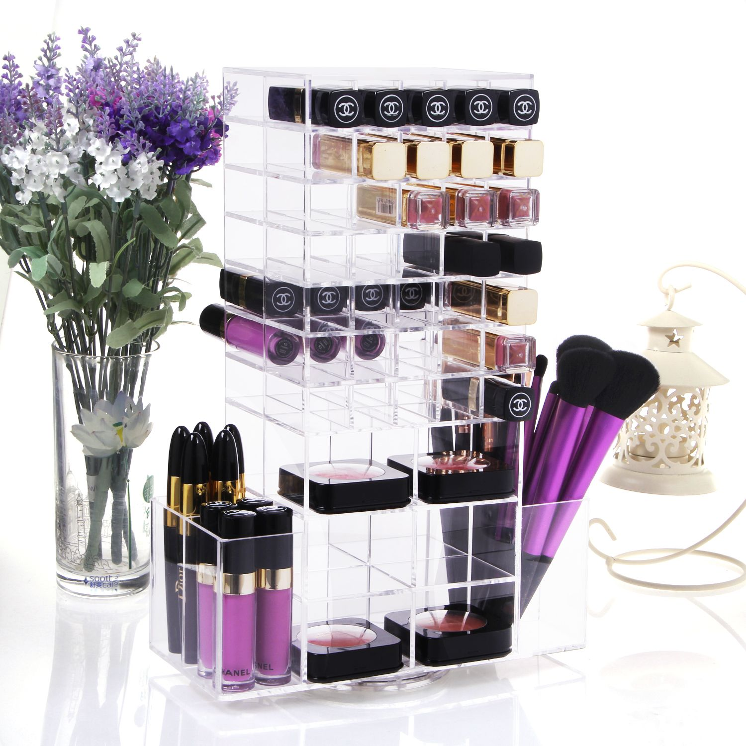 Clear Plastic Drawers For Makeup