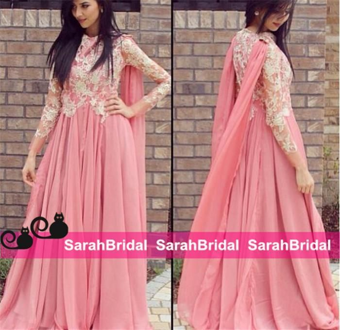 Awesome Arabic Wedding Dresses 2016 Muslim Evening For Guest Social Formal Occasion
