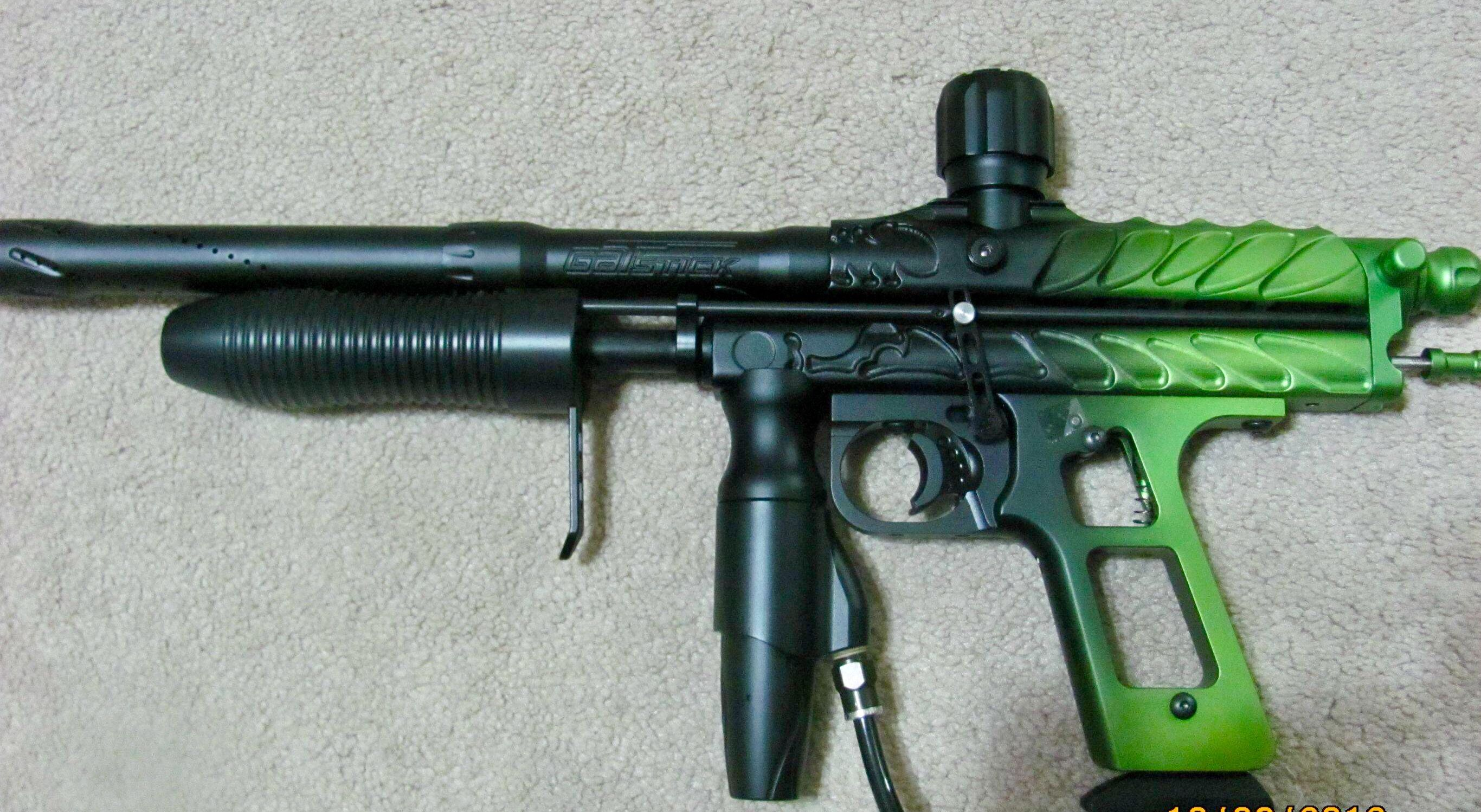 Pin on Sniper pump/mechanical paintball