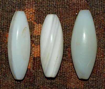 agate rice beads