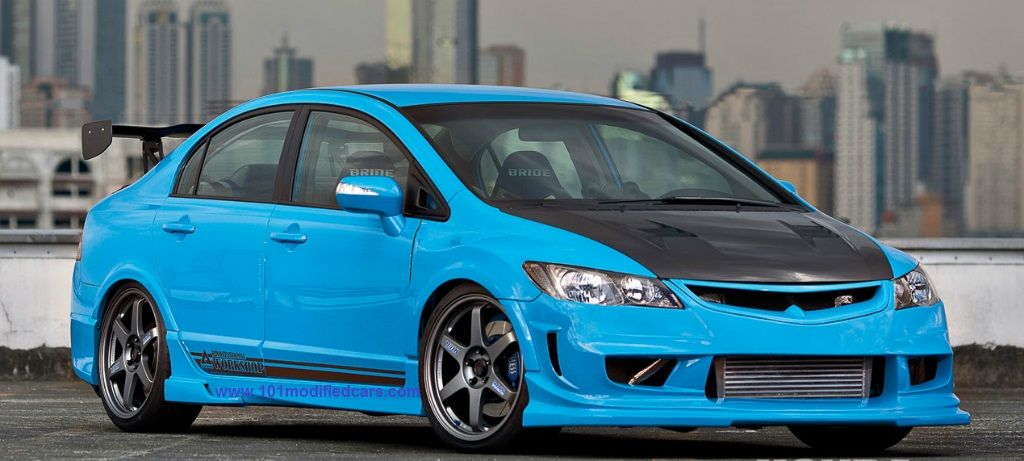 Modified honda civic 2007 8th generation http www for Honda civic customization ideas