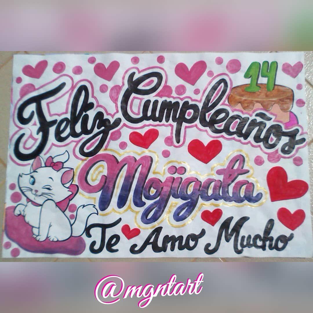 Pancartas Para Todo Tipo De Ocasión Expresa Tus Ideas Mgntart Arte Pancartas Diseño Like4like Anaco Venezuela Happy Birthday Gifts Birthday