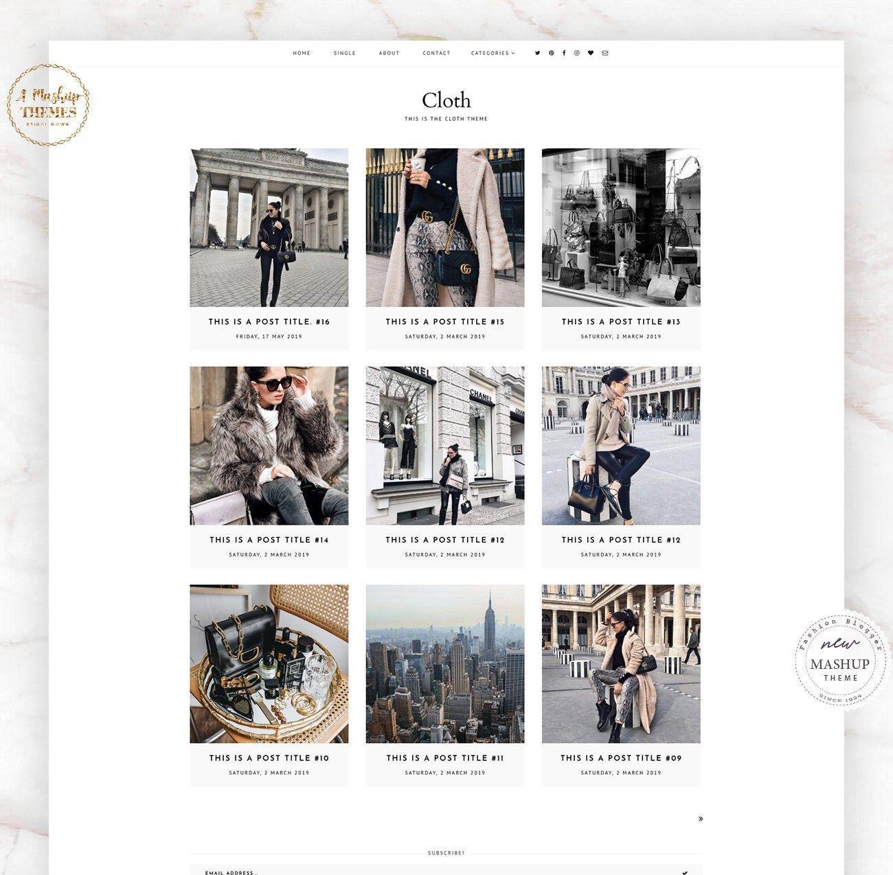 Cloth Theme Blogger Template Responsive Design Custom Blogger Design Responsive Blogger Template Blogger Theme Blogspot Template Vorlagen Web Design Template