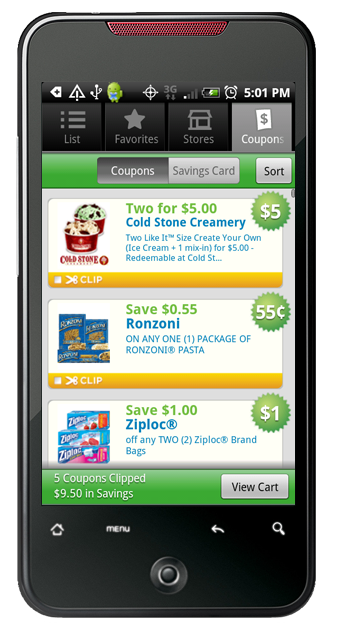 best digital grocery coupon app