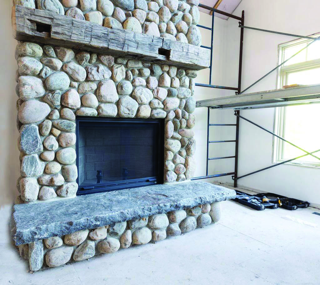 Extraordinary Fireplace Tile Ideas Pinterest That Will Impress You Fireplace Hearth Stone Natural Stone Fireplaces River Rock Fireplaces
