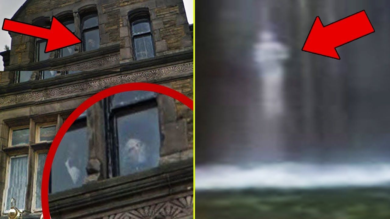 REAL GHOSTS? 8 SPOOKY Things Caught On GOOGLE Maps! | spooky ... on