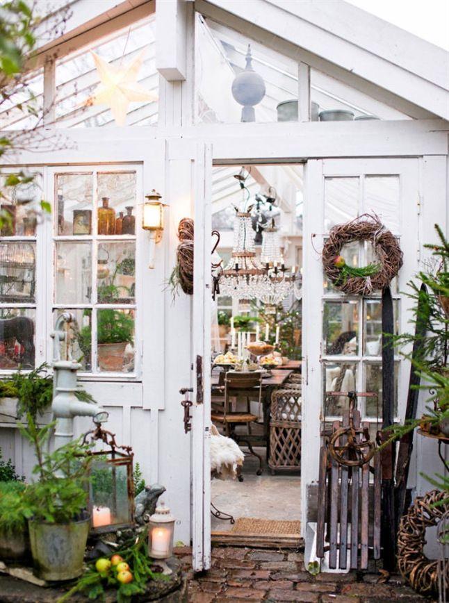 L Avent Dans L Orangerie Planete Deco A Homes World Jardin D Hiver Maison Verte Jardin Maison