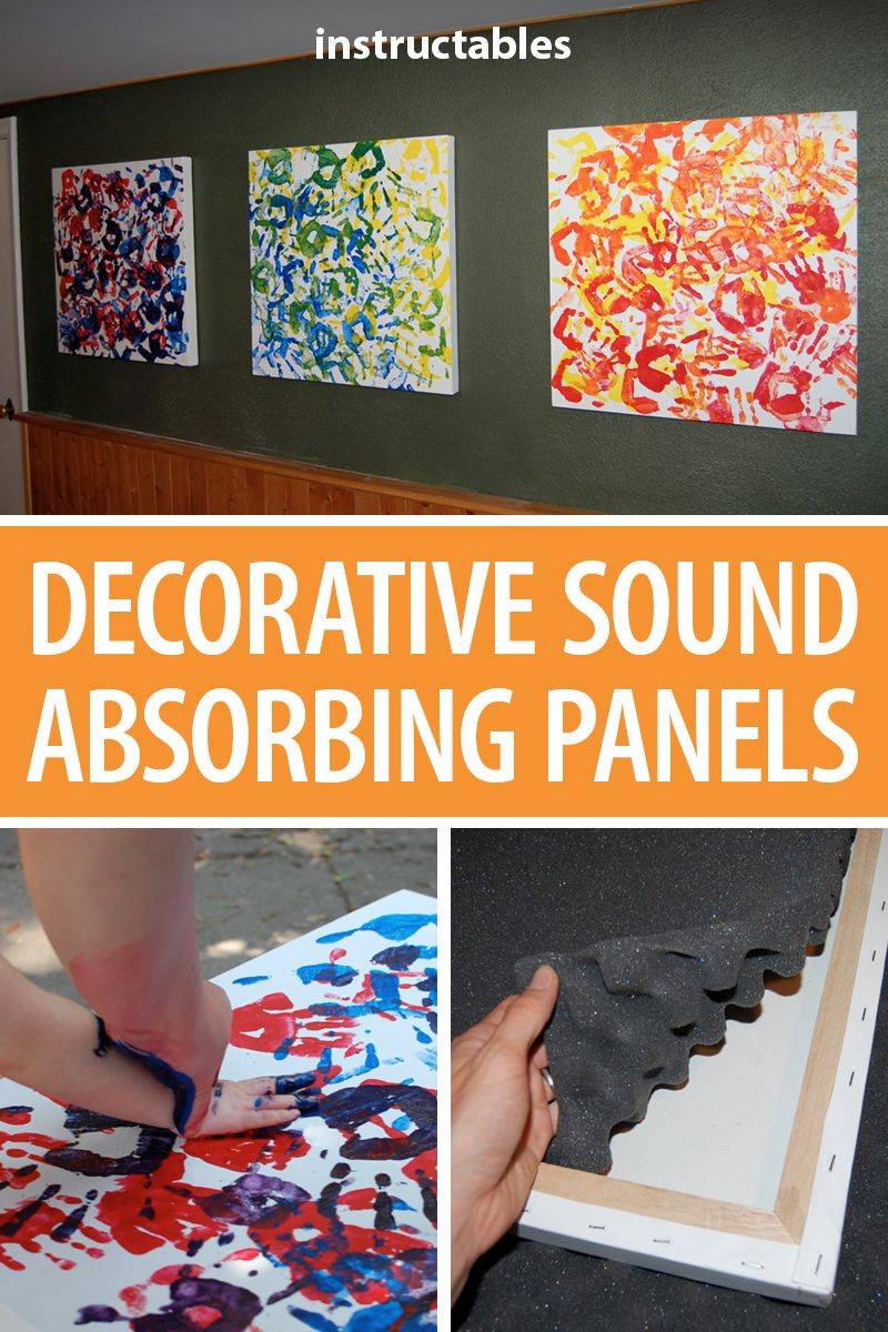 Decorative Sound Absorbing Panels Soundproof Room Diy Sound Panels Diy Acoustic Panels Diy