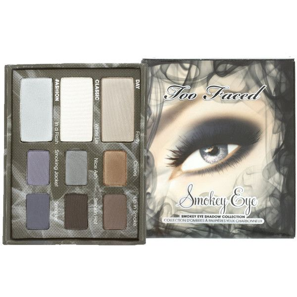 Too Faced Smokey Eye Collection ($45) ❤ liked on Polyvore