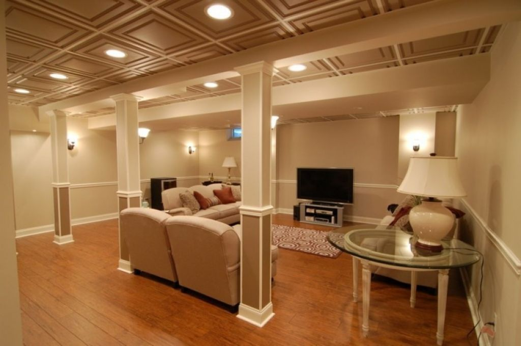 Drop Bat Ceiling With Recessed Lights Ideas For Finishing A