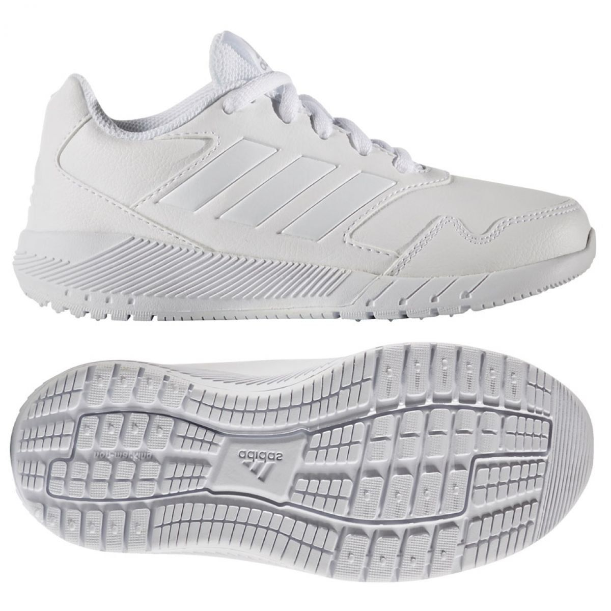 Buty Sportowe Dzieciece Dla Dzieci Adidas Buty Adidas Alta Run K Ba9428 Biale Adidas Adidas Sneakers Sneakers