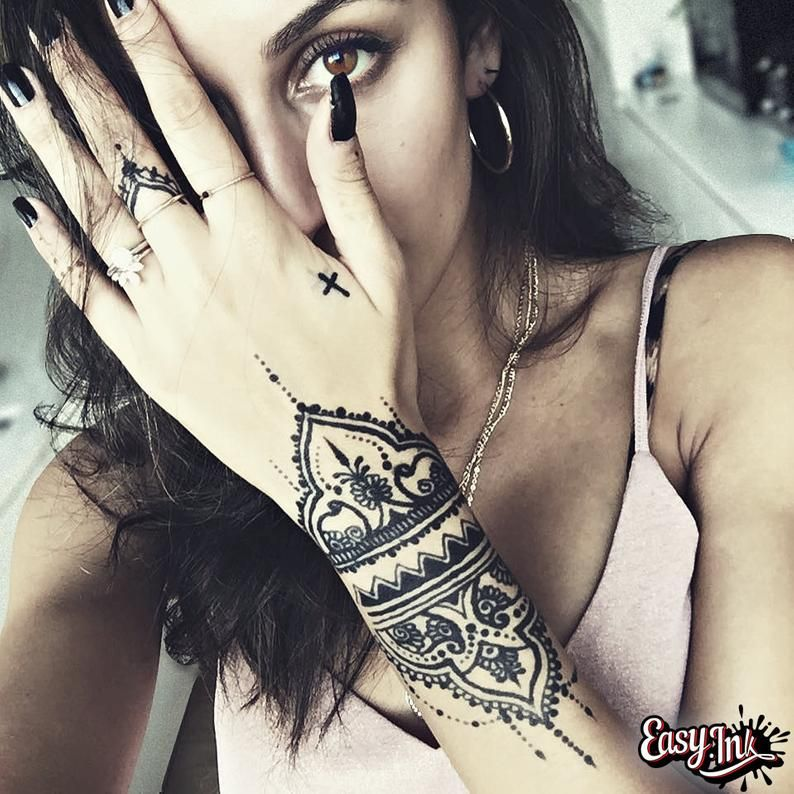 Photo of Easy.ink™ Freehand Temporary Tattoo Ink Full kit,SUPER DARK INK. Fruit Based Semi-Permanent Tattoo Ink, Natural & Waterproof. No Chemicals