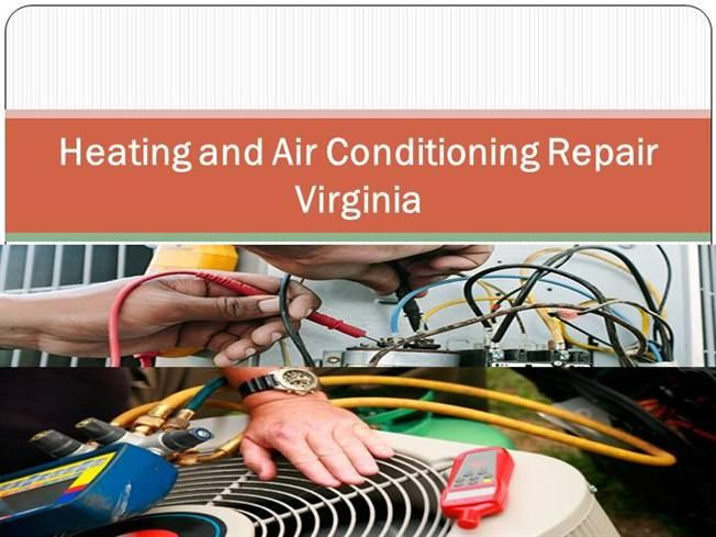 Heating And Air Conditioning Repair Virginia One Of The Ways To