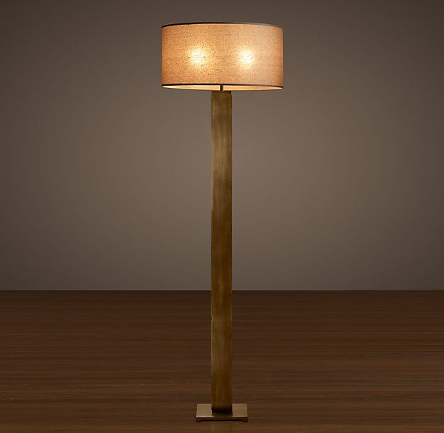 Column Floor Lamp Square Column Floor Lamp  Lighting  Pinterest  Floor Lamp