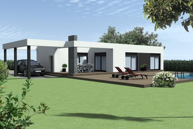 Modèle de maison individuelle LA PALLICE - n°118 Modèles et plans