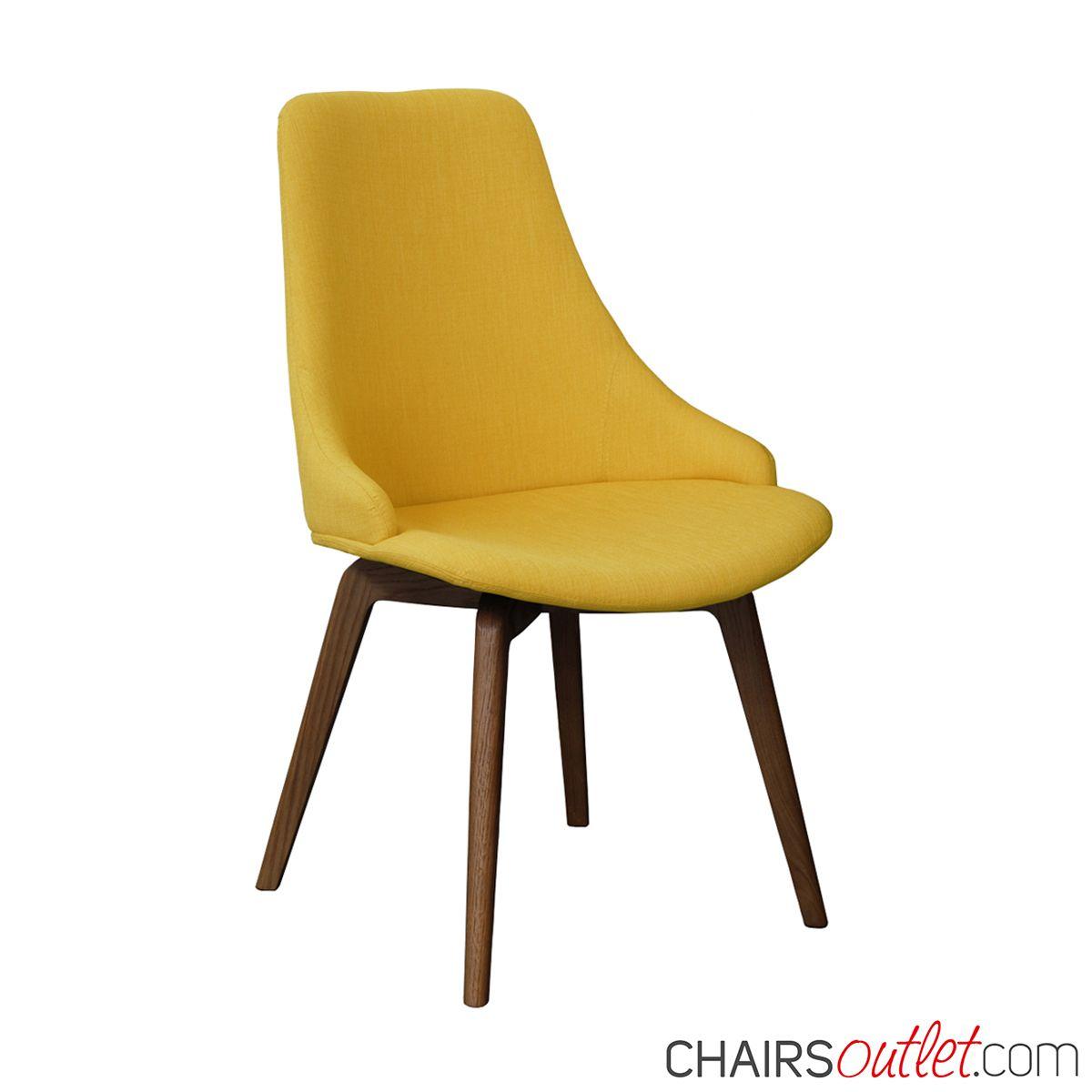 Sedia da #soggiorno #madeinItaly in #legno di #rovere tinto
