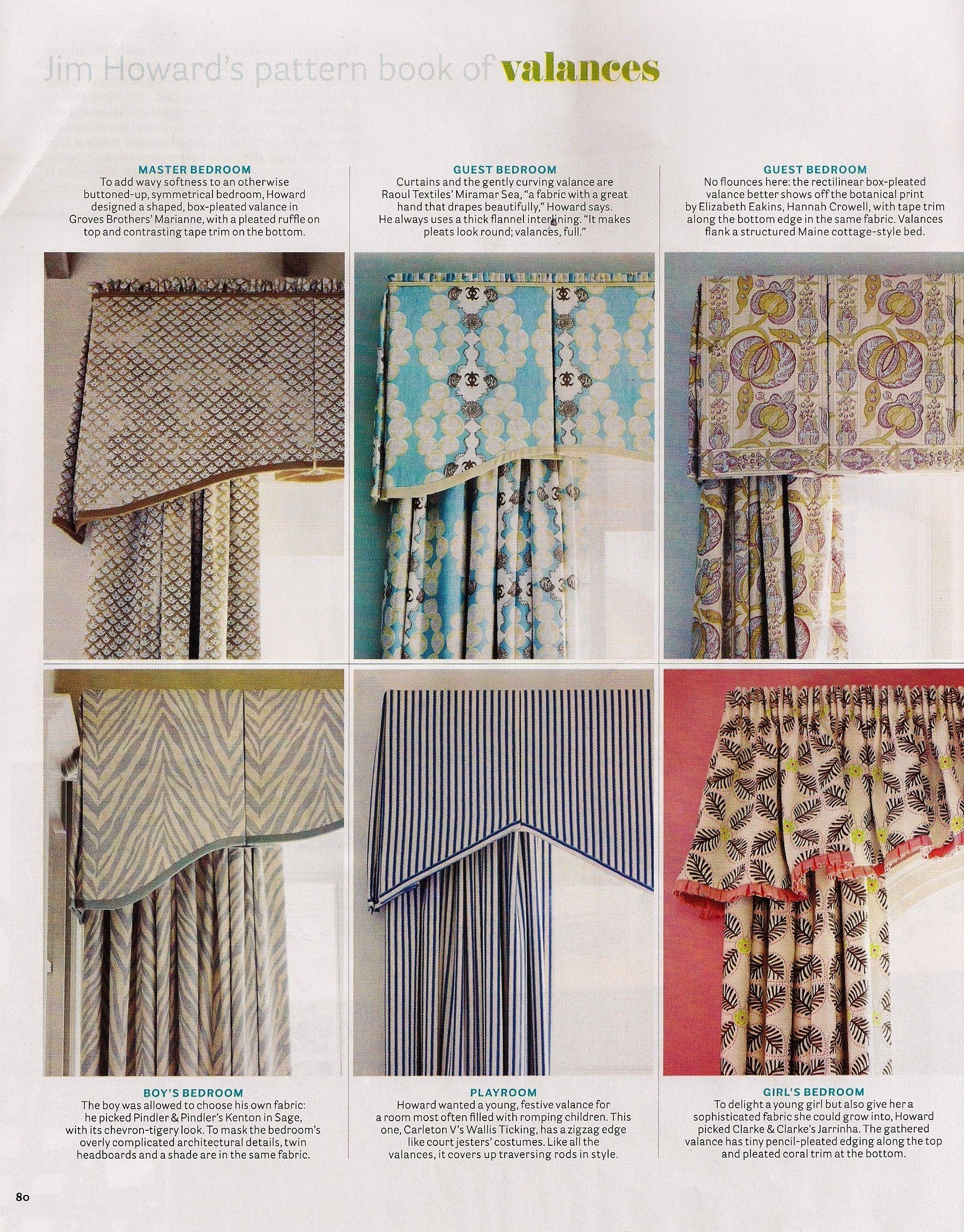 Valances Design Tip Stylish Valances 187 Elizabeth Stuart