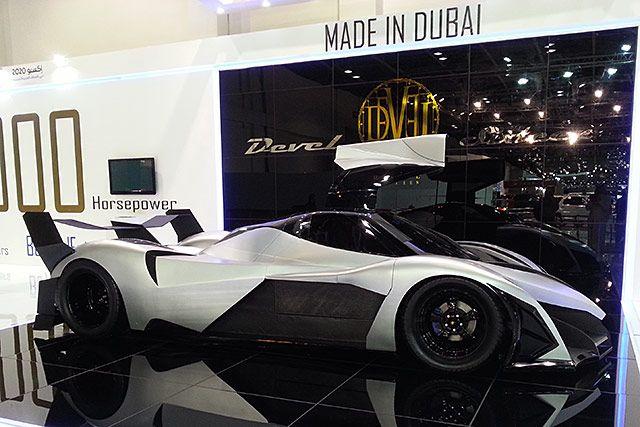 Devel Sixteen 5 000 Cv 16 Cilindri Velocita Max 500 Km H