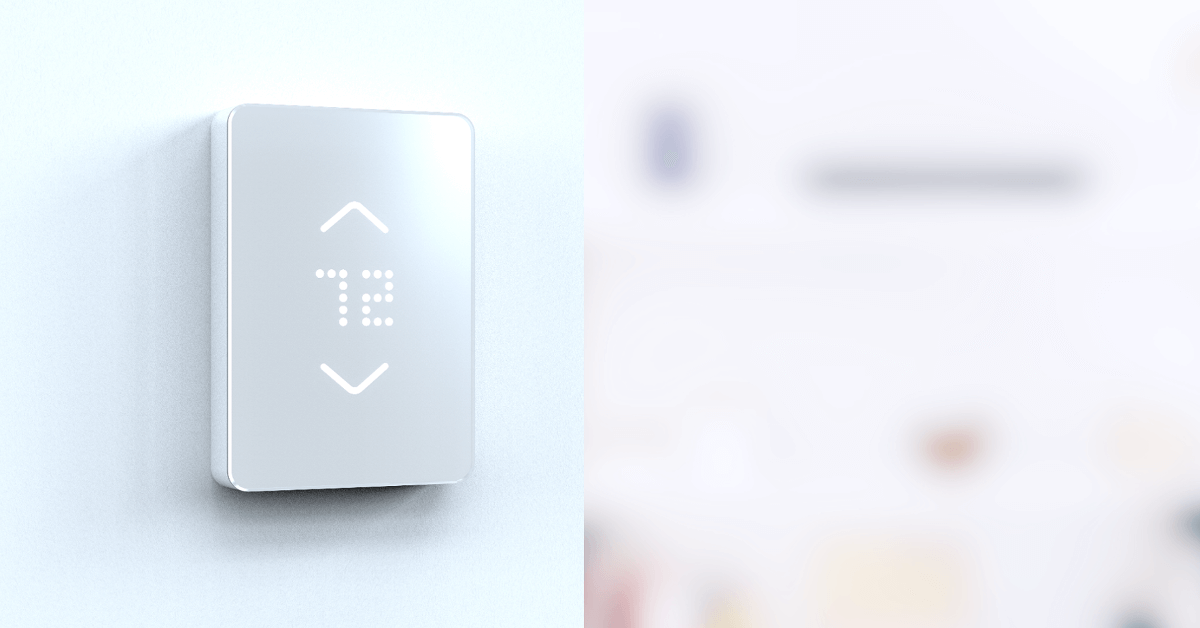 Mysa is a smart thermostat that works with high voltage heating systems. It learns your schedule and uses Wi-Fi to connect to your phone.
