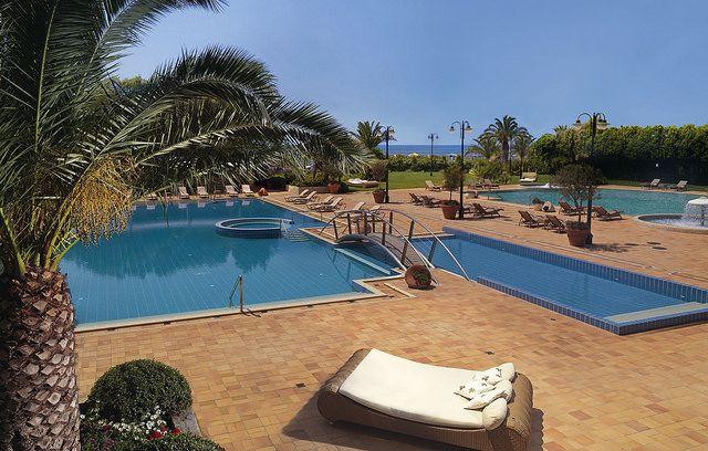 Pool Area - Divani Apollon Palace & Thalasso  http://divaniapollonhotel.com/