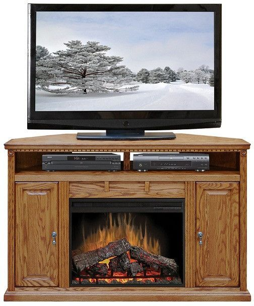 Lg Sd5102 Scottsdale 56 Fireplace Corner Tv Stand Living Room