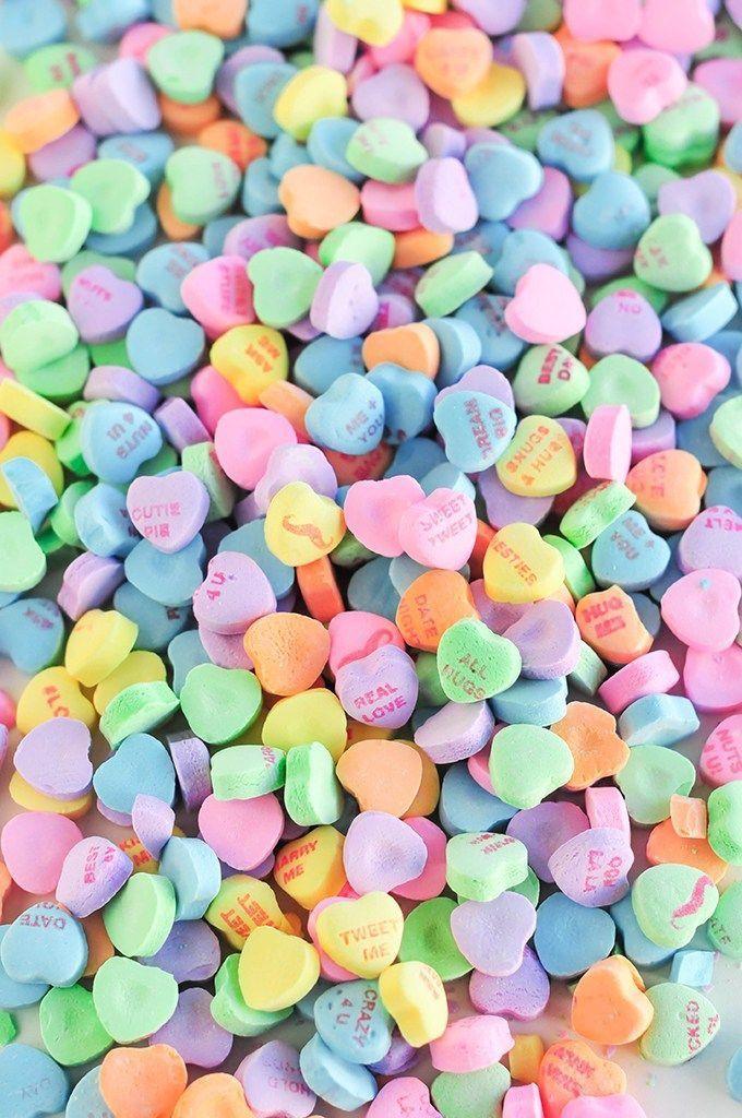 Valentine S Day Wallpaper Lockscreen Hearts Candy Color