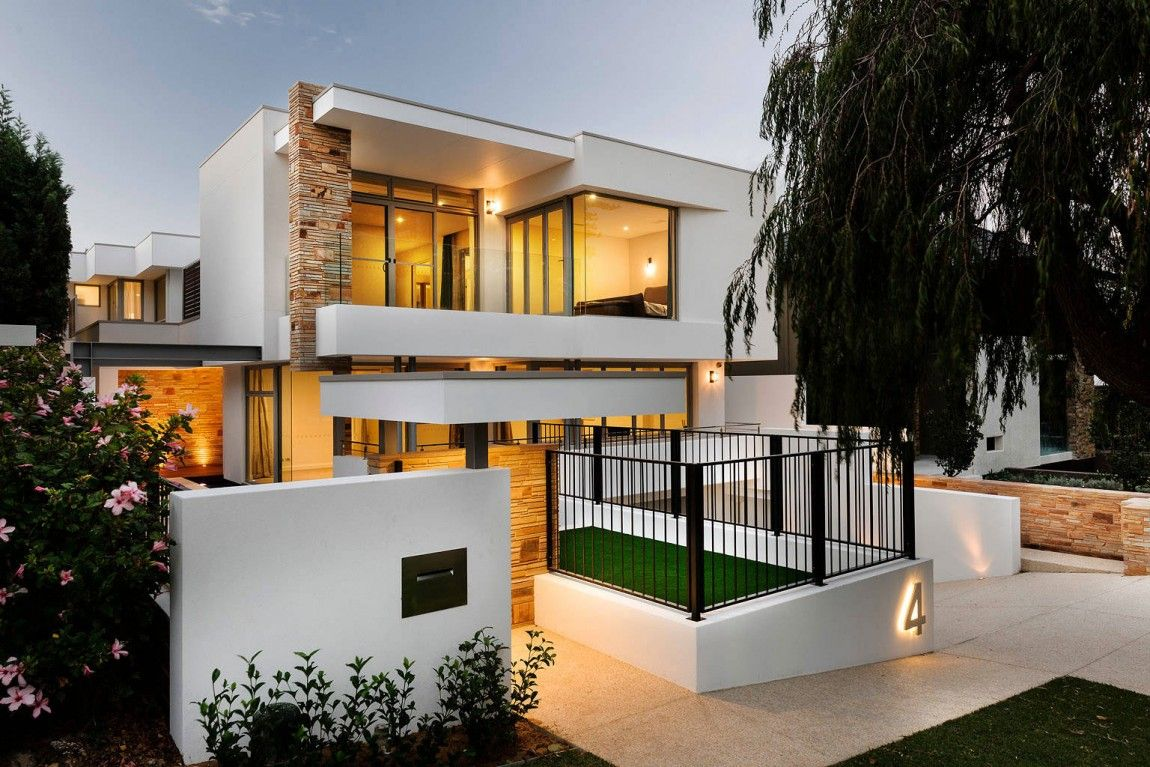 Modern stylish latest homes exterior designs Cyprus | House Plan 5 ...