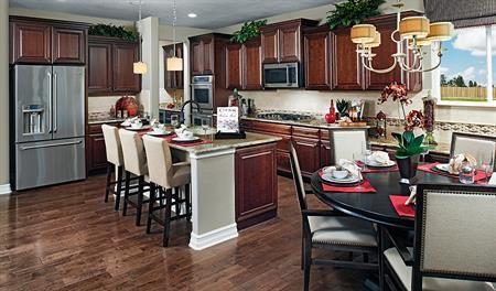 Dillon DEN Kitchen red Dillon floor plan Richmond American Homes