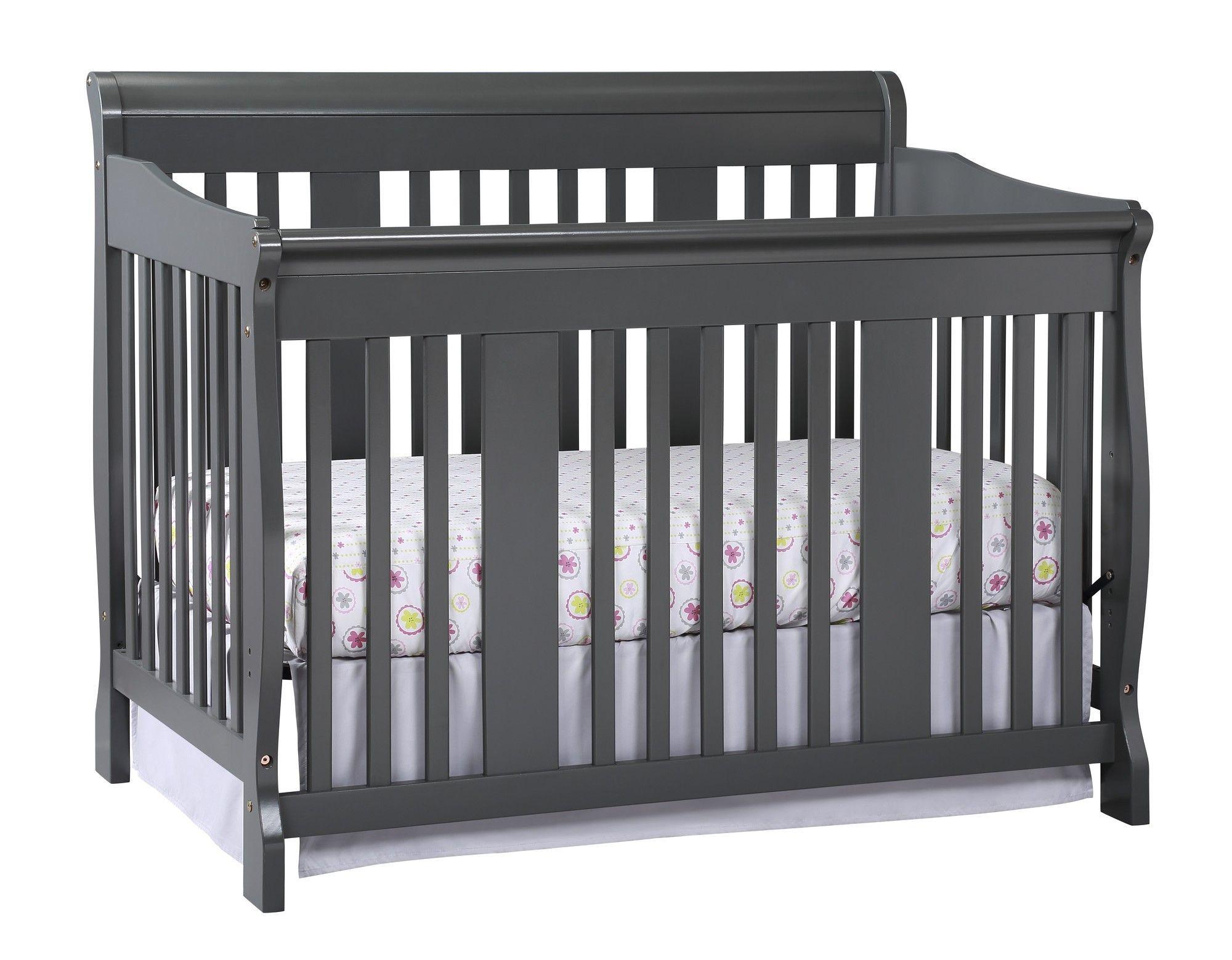Tuscany 4 In 1 Convertible Crib Convertible Crib Grey Storkcraft Convertible Crib [ 1559 x 2000 Pixel ]