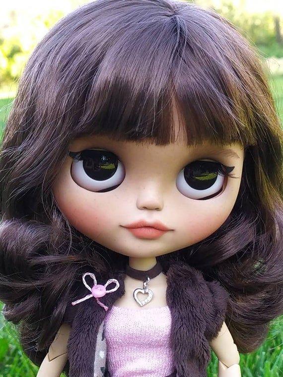 Blythe doll Custom Ooak bjd Doll Viki TBL art doll sweet doll #dollcare