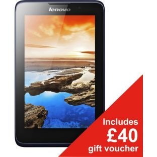 BARGAIN Lenovo A7 7 Inch 16 GB Tablet was £129.99 NOW £109.99 + £40 Argos Gift Voucher at Argos - Gratisfaction UK