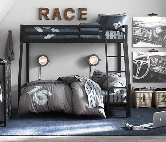 Decoracion juvenil coches coches pinterest - Ideas para decorar dormitorio juvenil ...