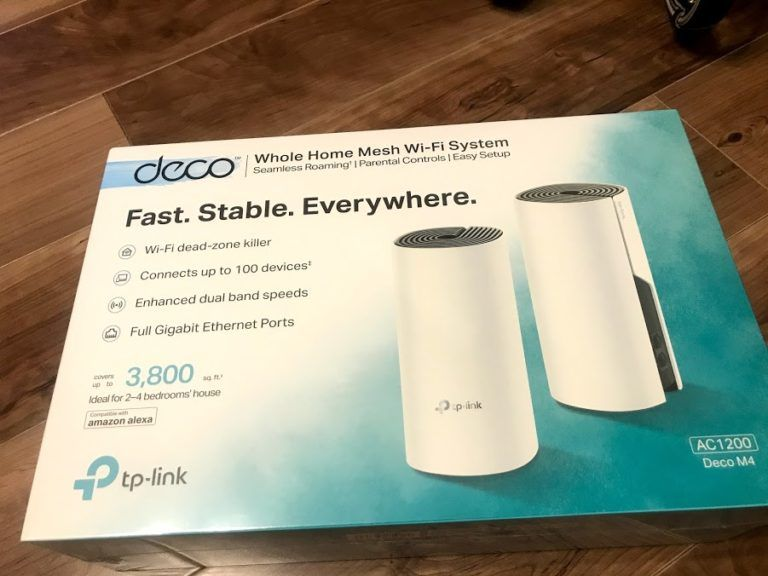 Tp Linkのメッシュwifiシステムac1200を導入して自宅のwifi環境を快適