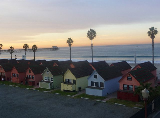 Winter Sunrise Oceanside Ca Roberts Cottages