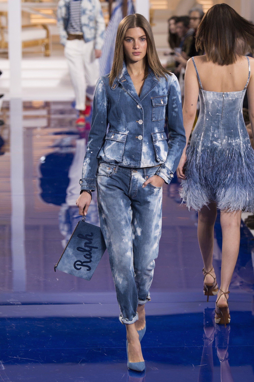 Коллекция Ralph Lauren Spring 2018 Ready to the Wear - Vogue