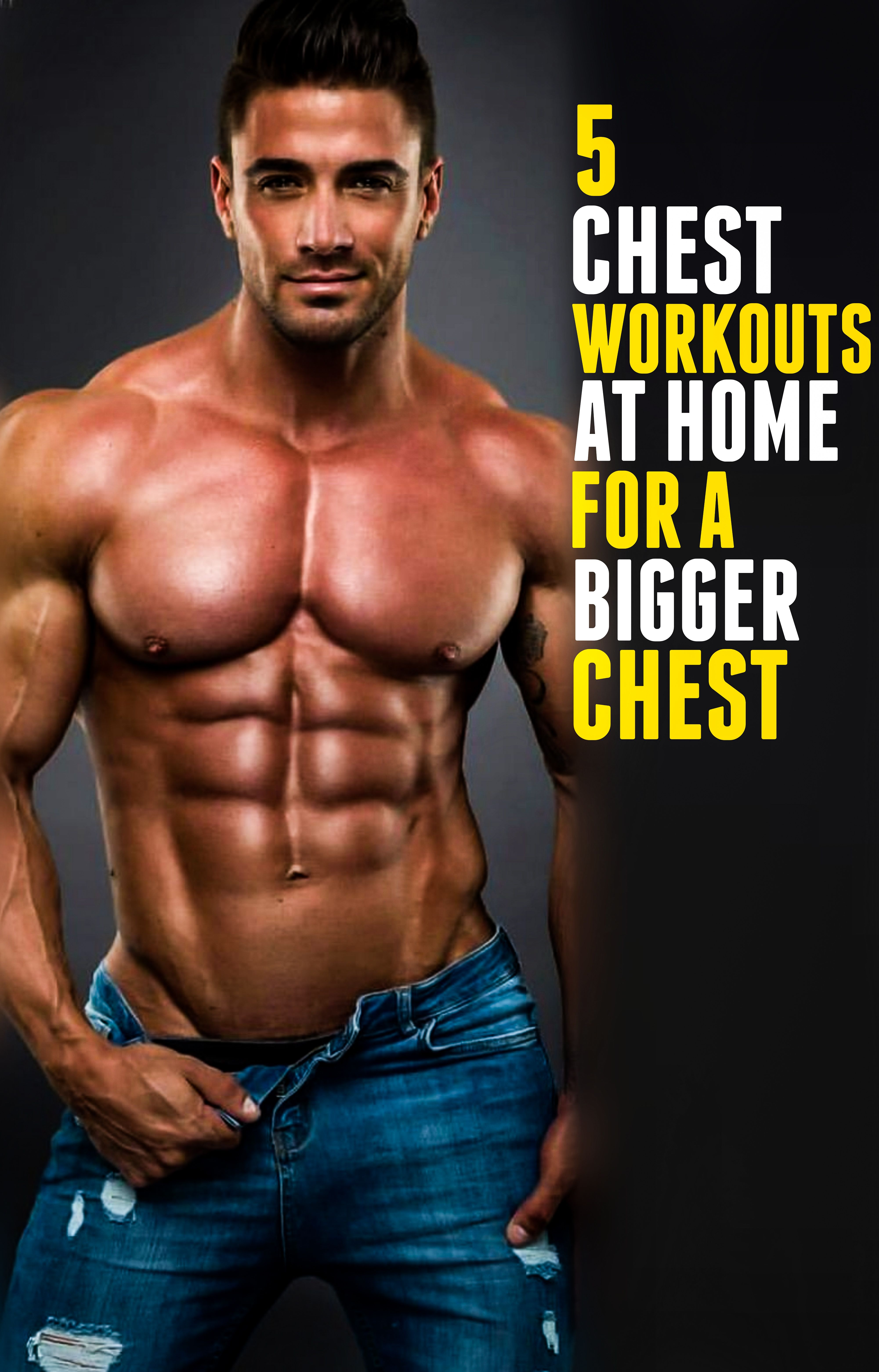 TOP 5 CHEST WORKOUTS AT HOME FOR A BIGGER CHEST Alpha