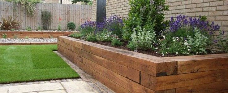 Raised Flower Bed Installation And Fitting Small Front 640 x 480