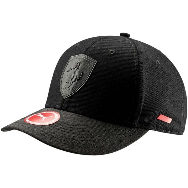 Puma Ferrari Mansion Adjustable Hat ( 20) ❤ liked on Polyvore featuring  accessories 5d465ca10d3