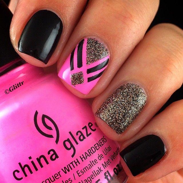 Instagram Media Glittr Nail Nails Nailart Nails Pinterest
