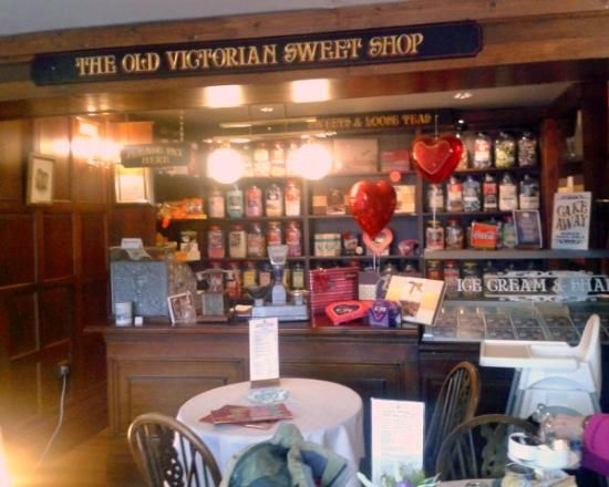 inside victorian stores the victorian tea room and sweet. Black Bedroom Furniture Sets. Home Design Ideas