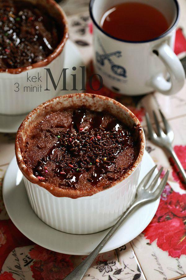 Masam Manis Kek Milo 3 Minit Osem Tried Out Recipes Cake