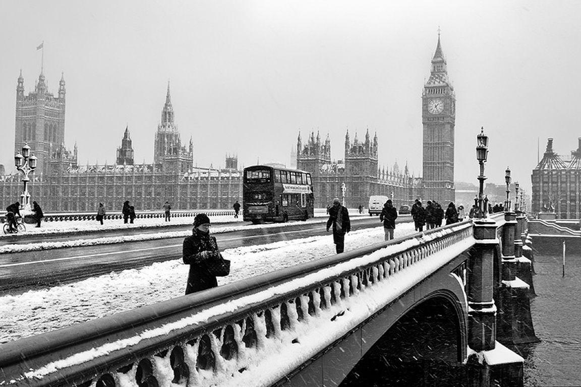 Hd wallpaper london - London Winter Full Hd Wallpaper