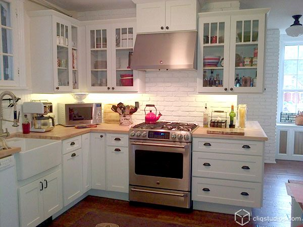 Farmhouse Kitchen White Cabinets project spotlight: balancing aesthetics and layout in a  | new