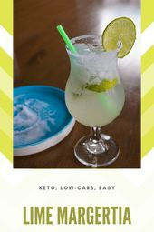 Keto Lime Margarita #limemargarita An easy, 4-ingredient keto margartia without ... - #limemargarita